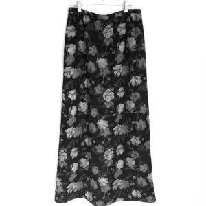 Worthington floral long Maxi Skirt Size 6